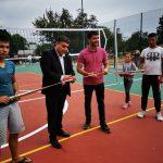 Три нови комбинирани спортни площадки се откриват днес в община Каолиново.