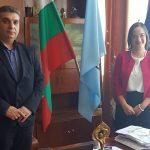 Кметът на община Каолиново г-н Нида Ахмедов проведе днес първа официална среща с Генералния консул на Република Турция в Бургас г-жа Сенем Гюзел.