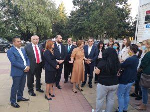 На 15.09.2021 г. кметът на община Каолиново Нида Ахмедов посрещна посланикът на Турция в България Айлин Секизкьок